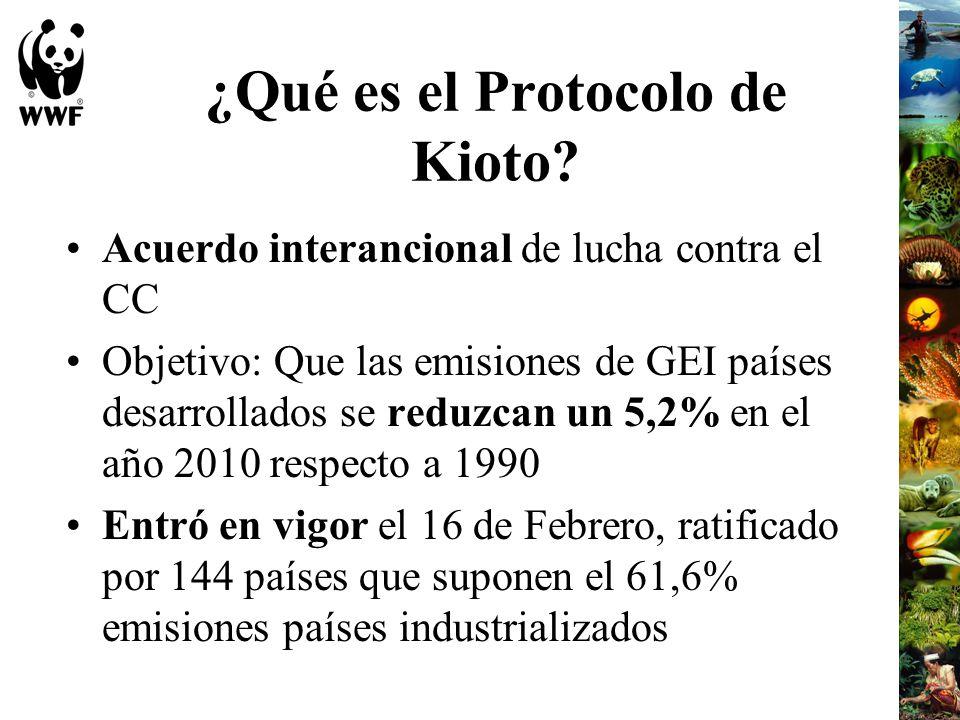 ¿Qué es el Protocolo de Kioto