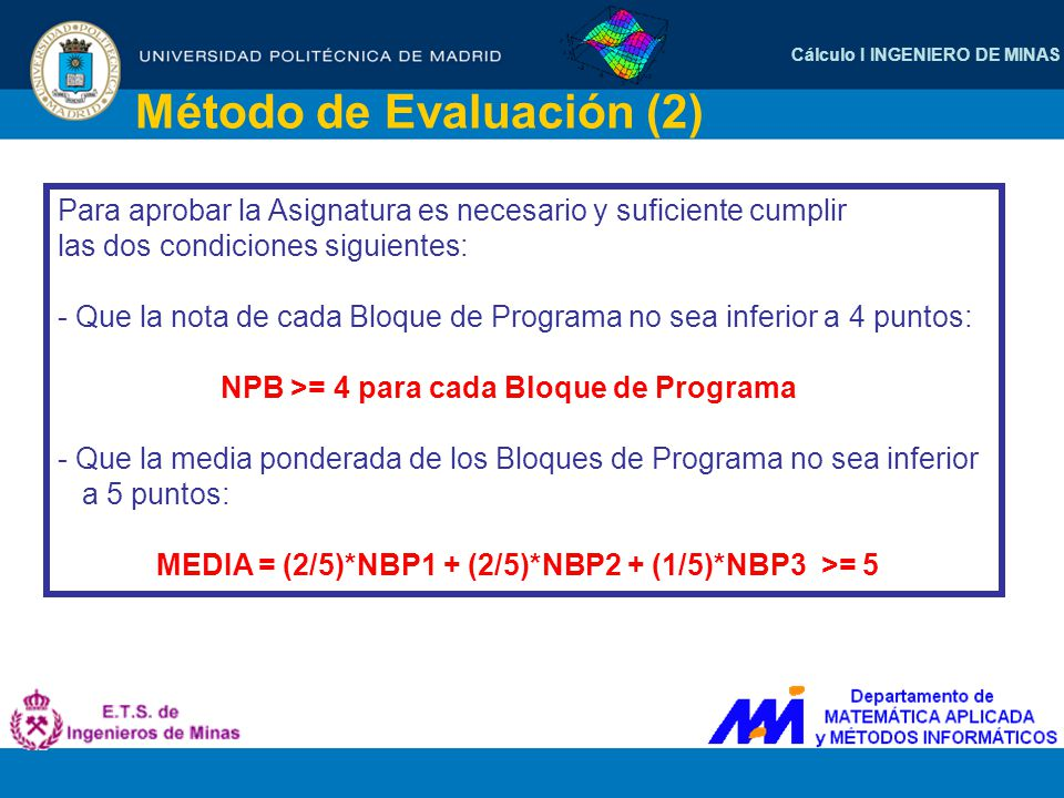 Método de Evaluación (2)