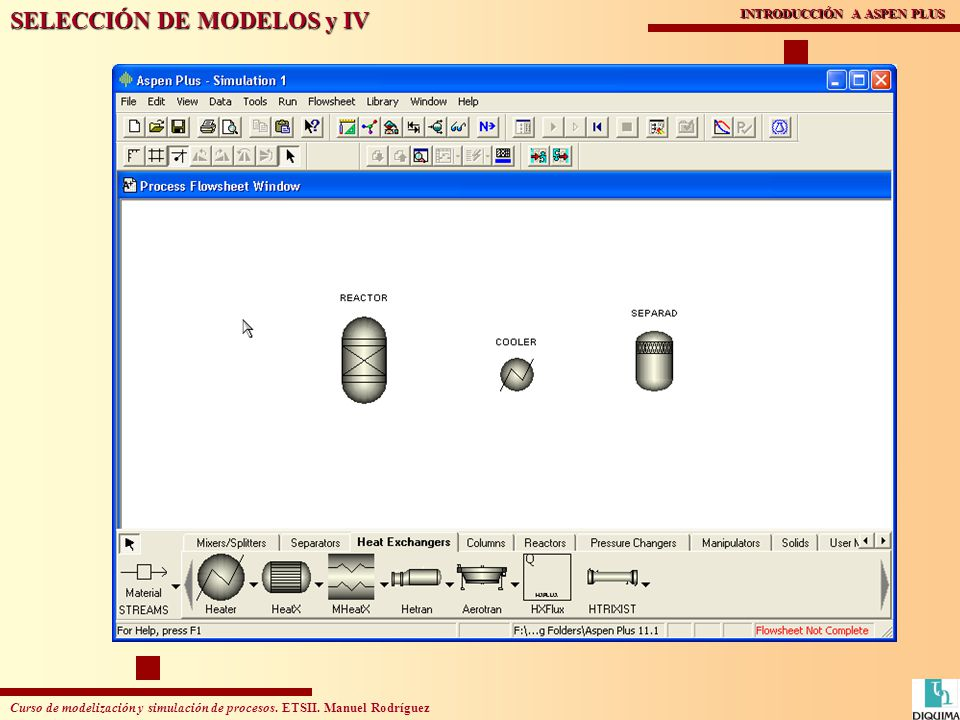 SELECCIÓN DE MODELOS y IV