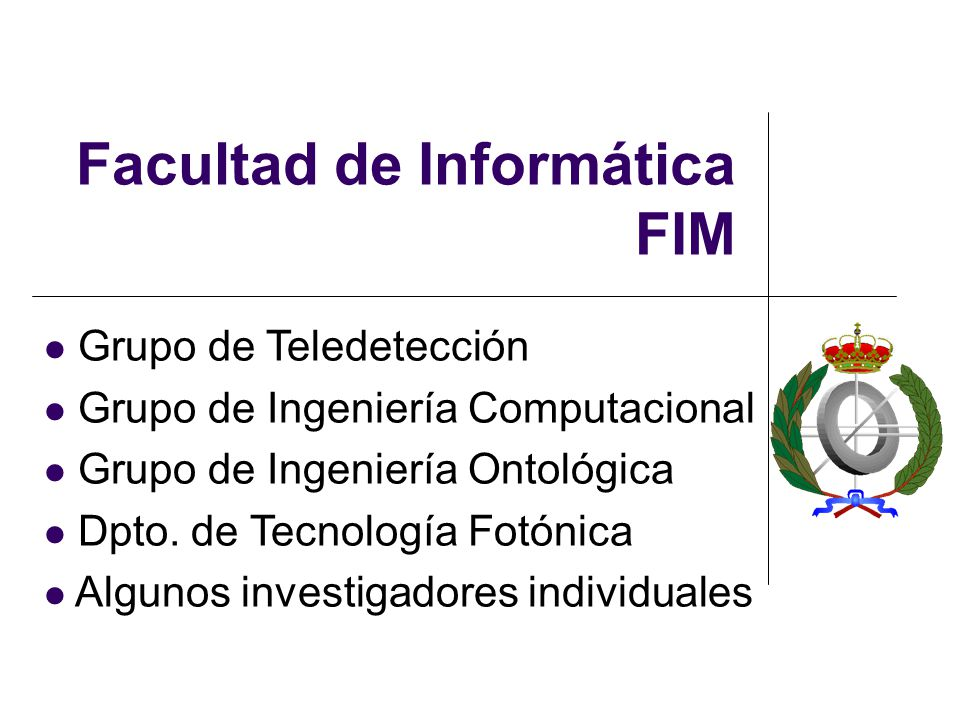 Facultad de Informática FIM