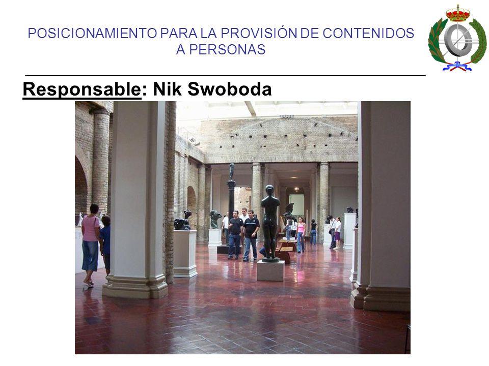 POSICIONAMIENTO PARA LA PROVISIÓN DE CONTENIDOS A PERSONAS