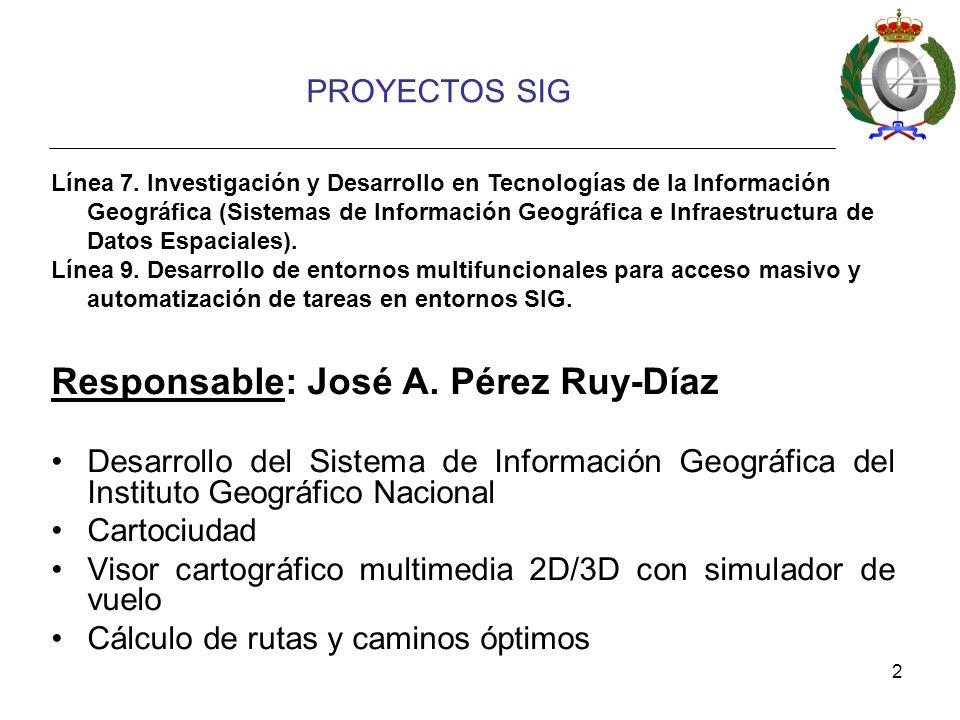 Responsable: José A. Pérez Ruy-Díaz