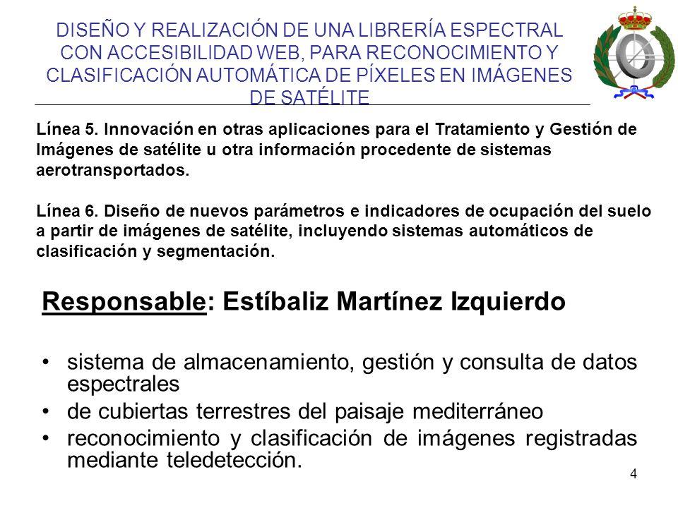 Responsable: Estíbaliz Martínez Izquierdo