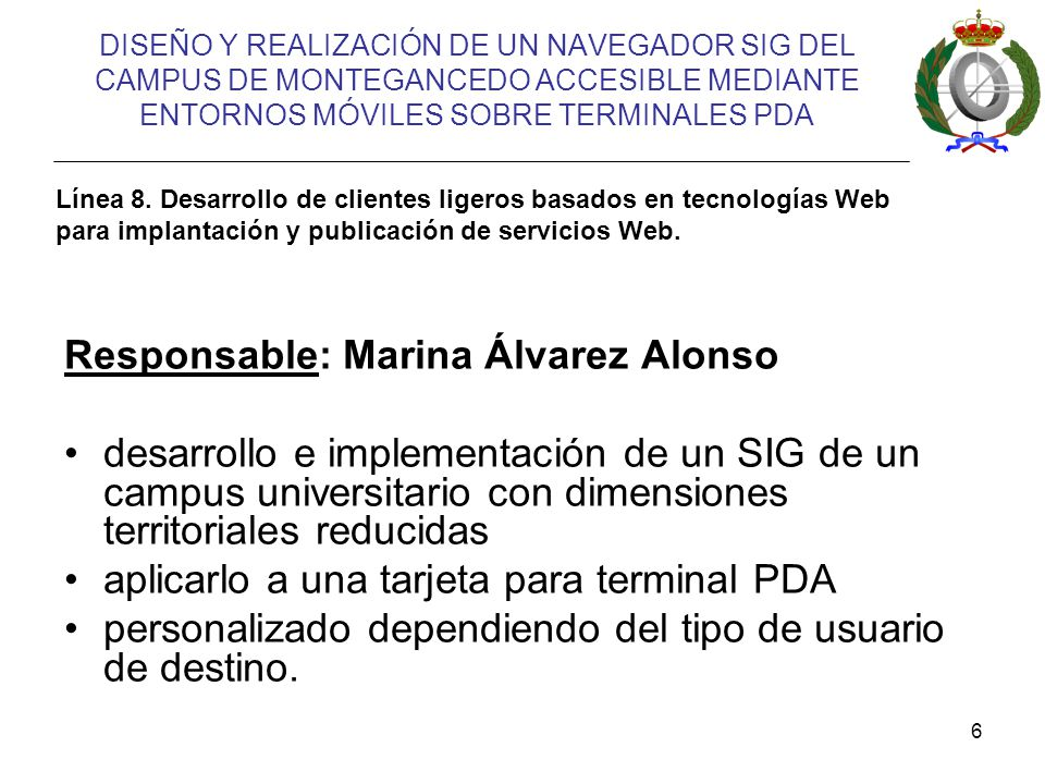 Responsable: Marina Álvarez Alonso