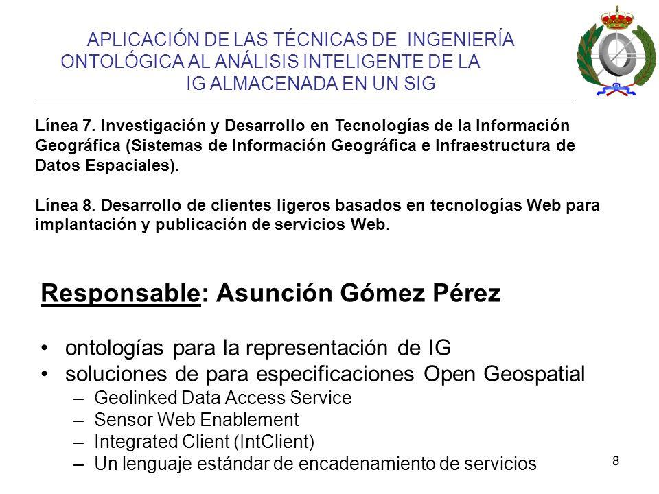 Responsable: Asunción Gómez Pérez