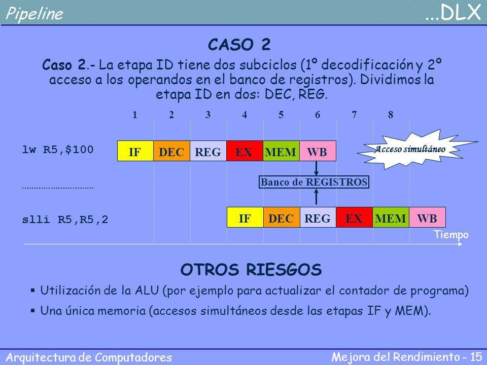 Pipeline ...DLX CASO 2 OTROS RIESGOS
