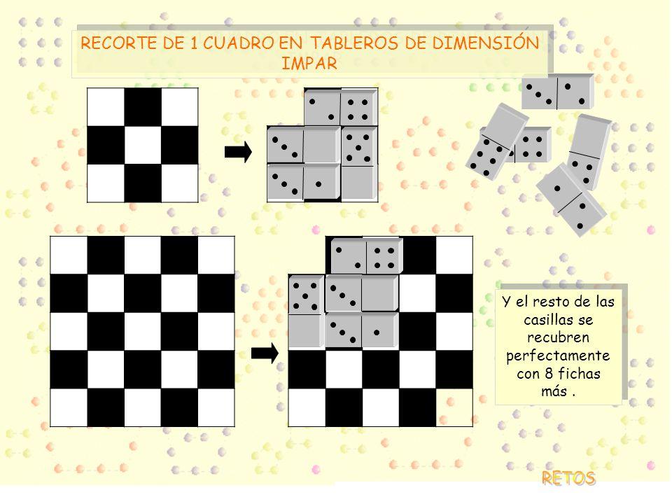 RECORTE DE 1 CUADRO EN TABLEROS DE DIMENSIÓN IMPAR