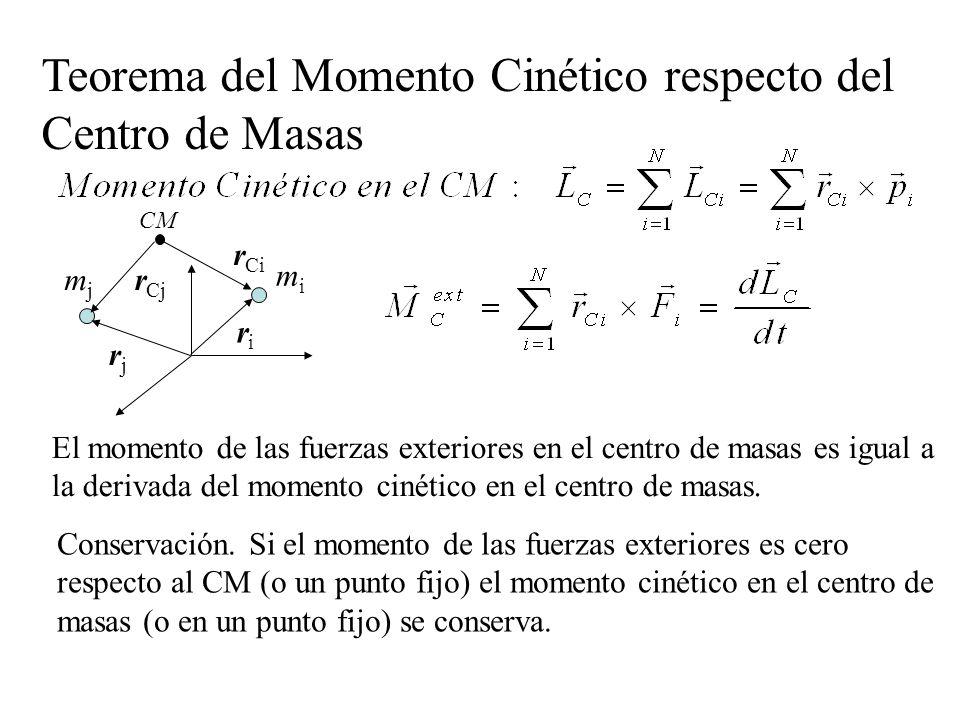 Teorema del Momento Cinético respecto del Centro de Masas