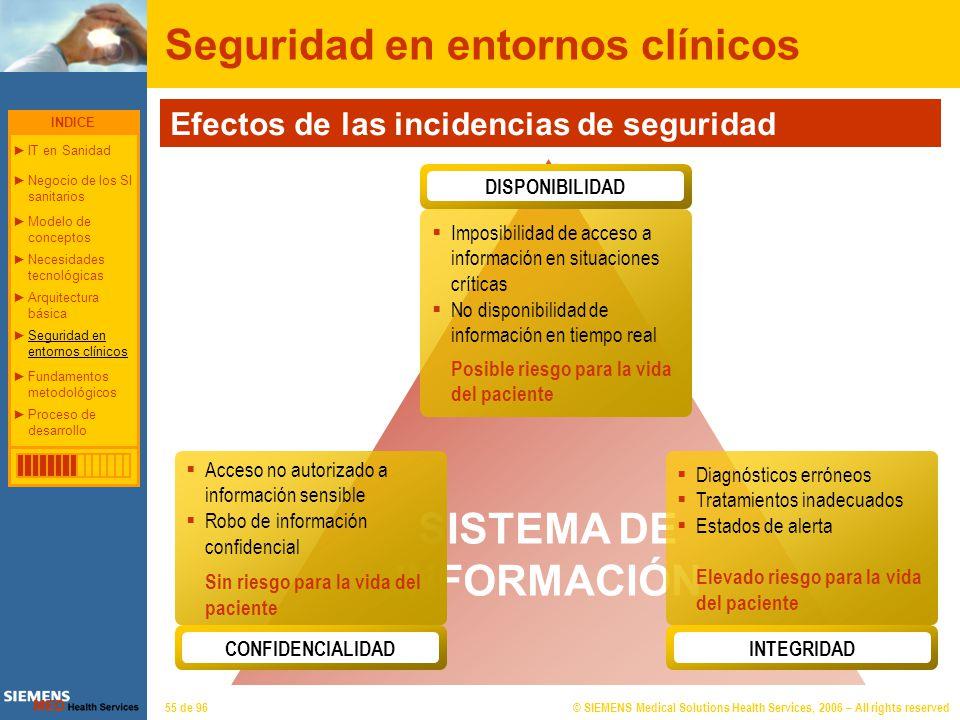 S%guridad en entornos clínicos