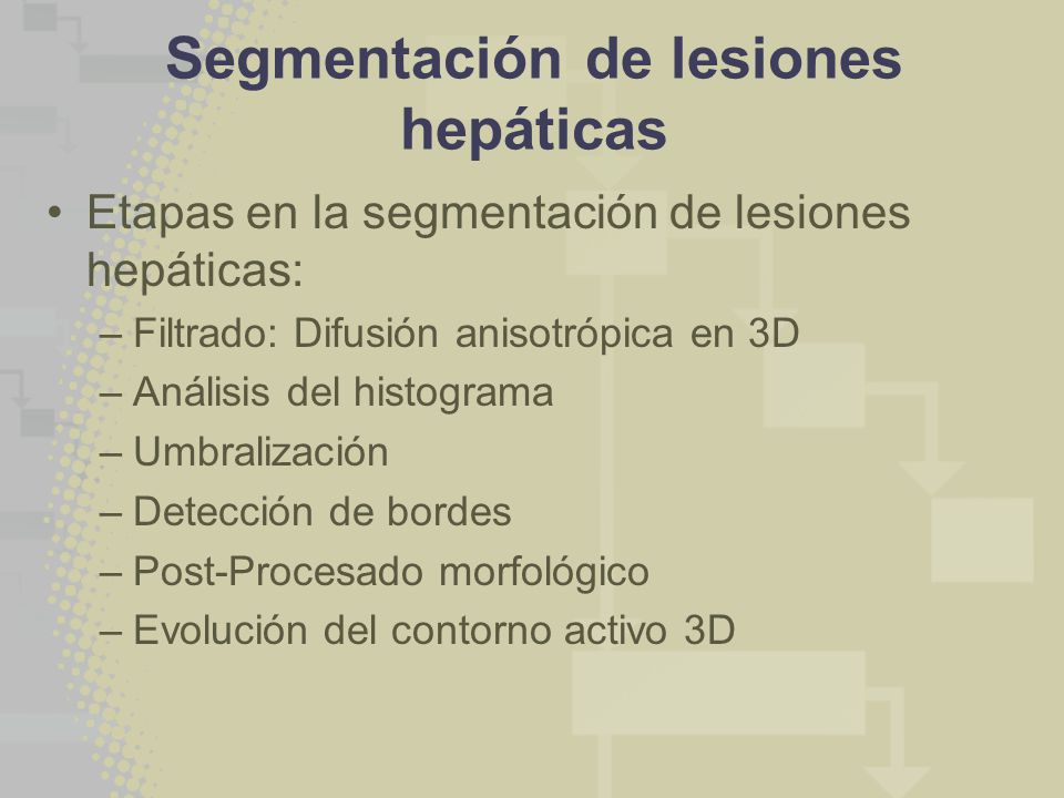 Segmentación de lesiones hepáticas