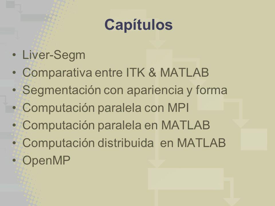 Capítulos Liver-Segm Comparativa entre ITK & MATLAB