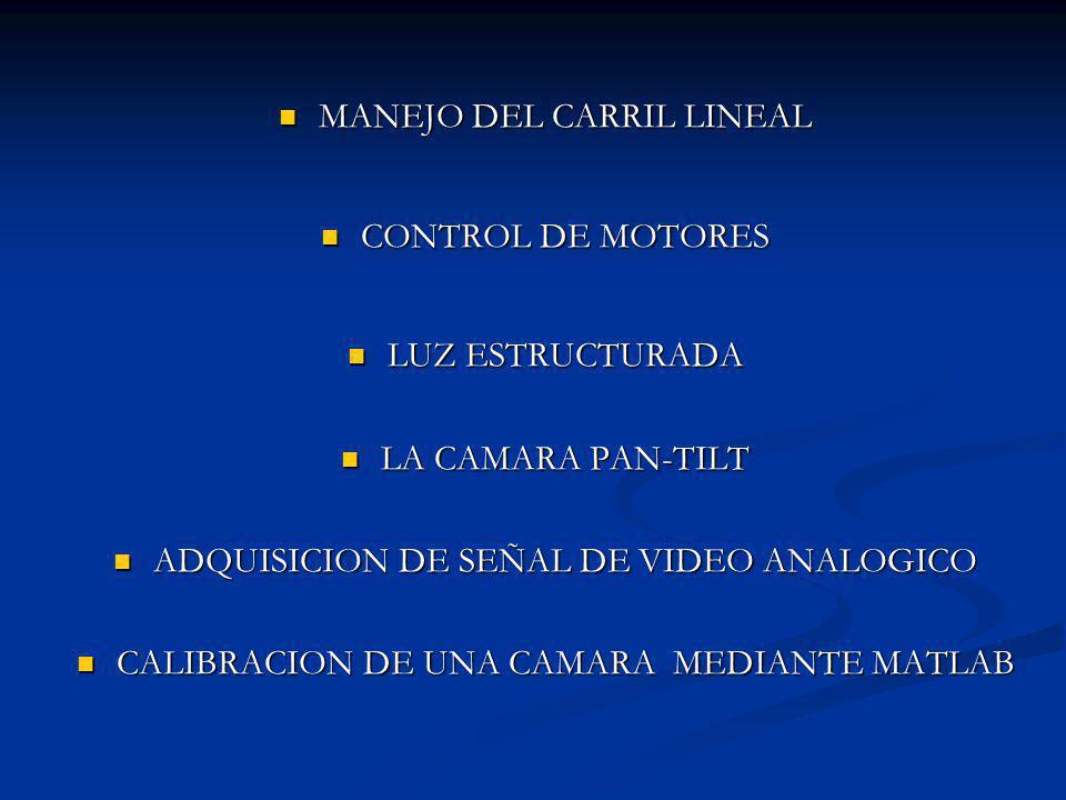 MANEJO DEL CARRIL LINEAL