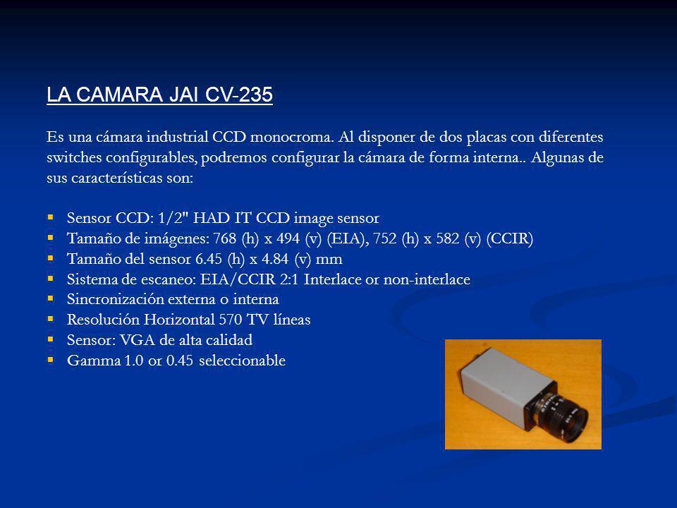 LA CAMARA JAI CV-235