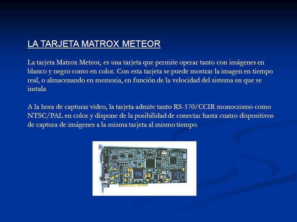 LA TARJETA MATROX METEOR