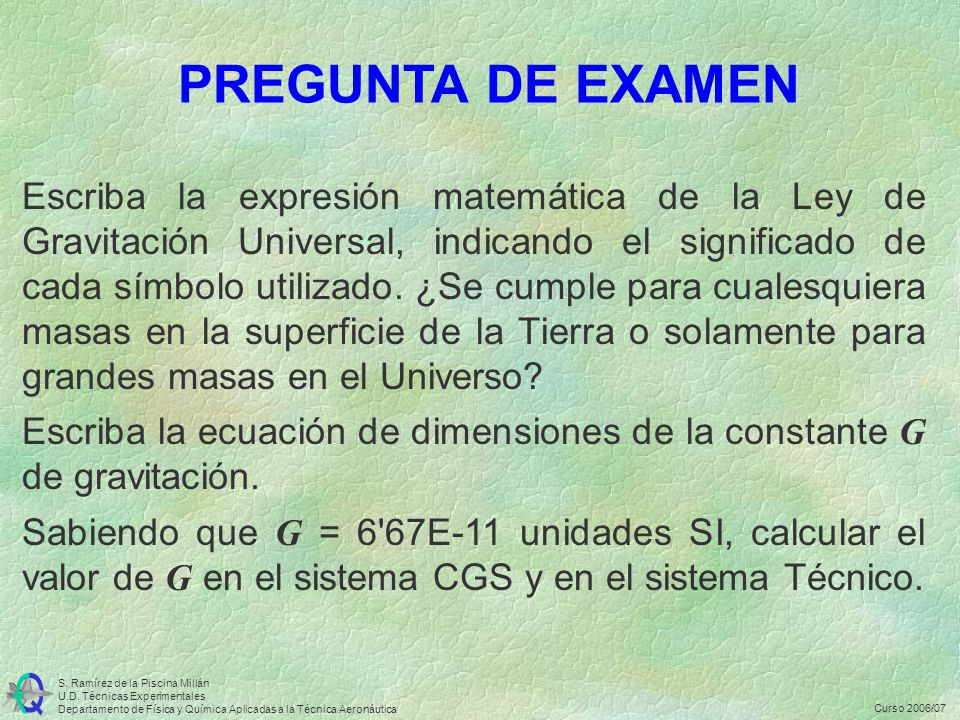 PREGUNTA DE EXAMEN