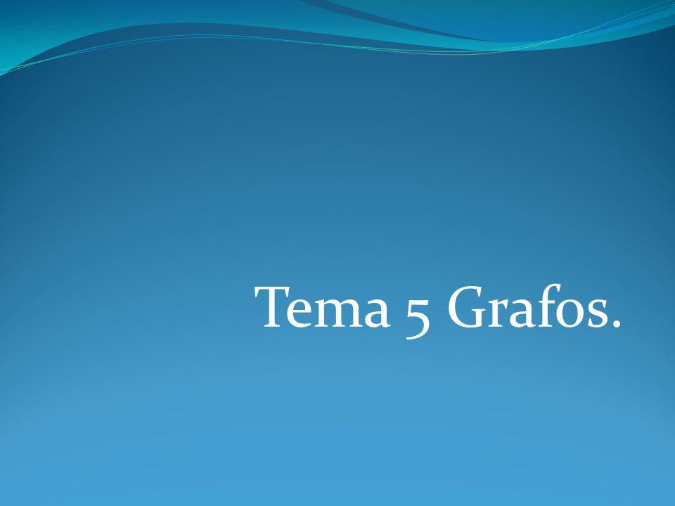 Tema 5 Grafos.
