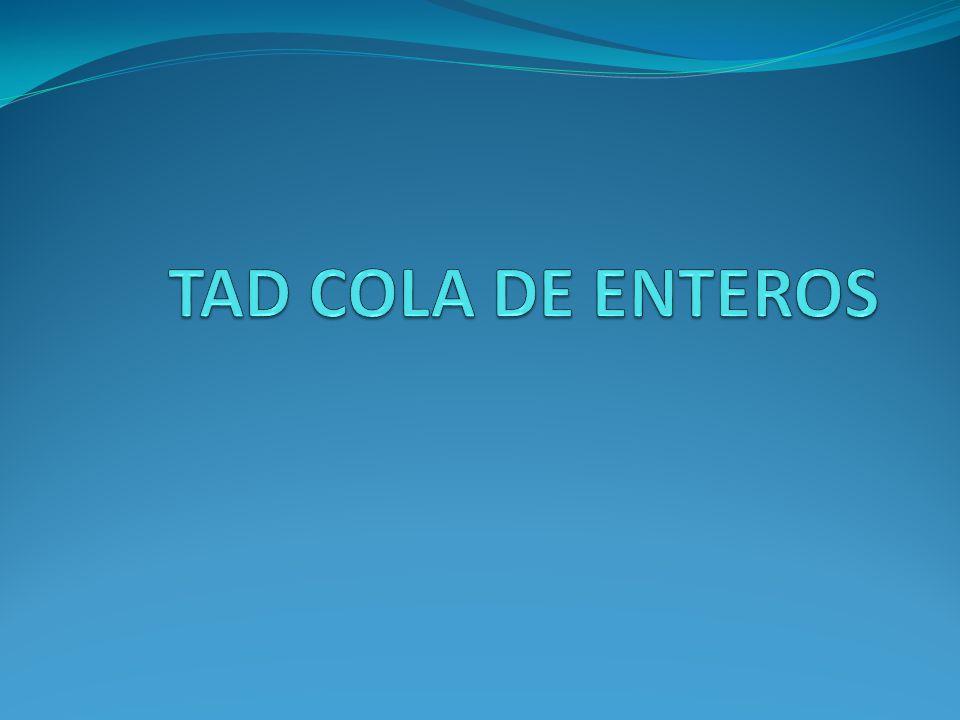 TAD COLA DE ENTEROS