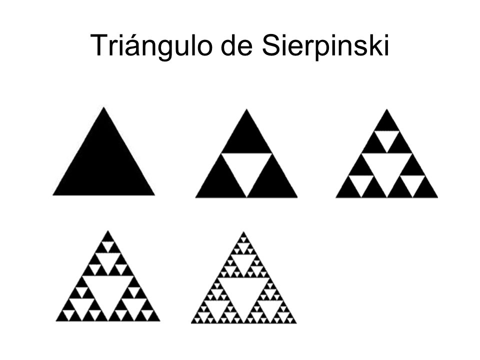 Triángulo de Sierpinski