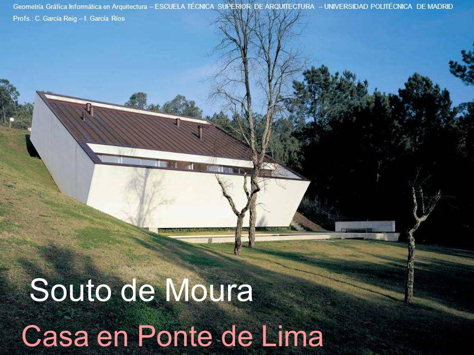 Souto de Moura Casa en Ponte de Lima
