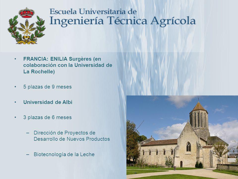 FRANCIA: ENILIA Surgères (en colaboración con la Universidad de La Rochelle)