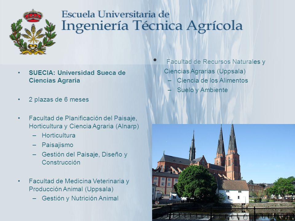 Facultad de Recursos Naturales y Ciencias Agrarias (Uppsala)