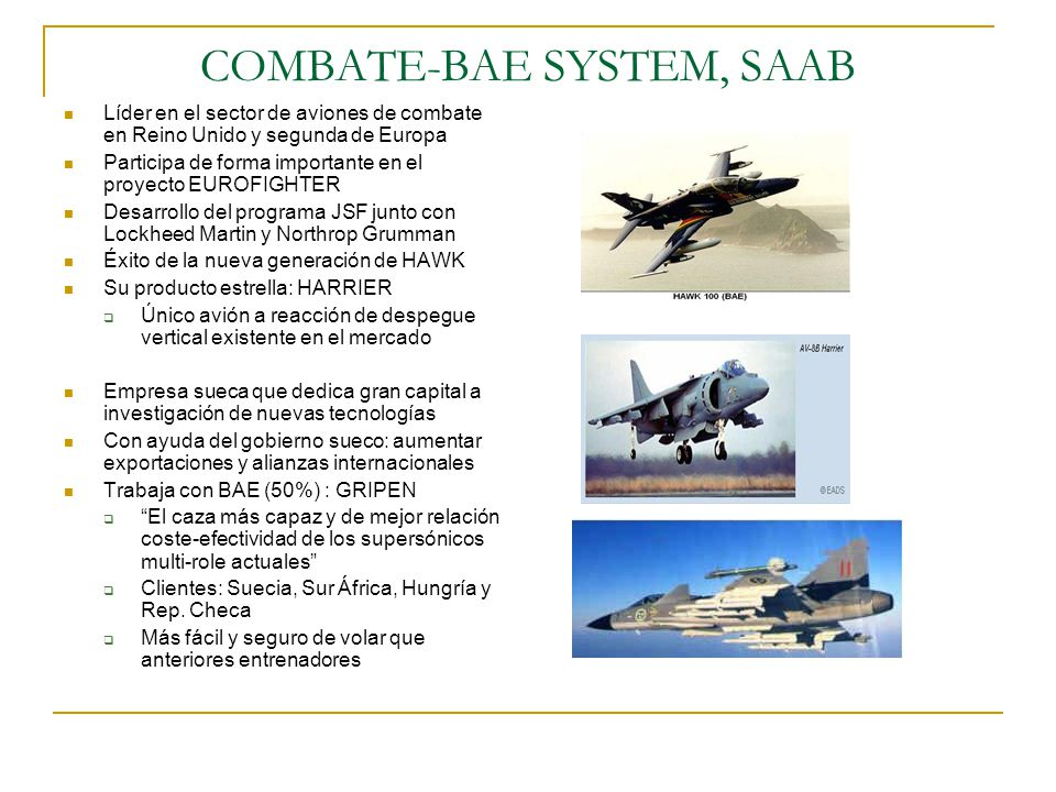 COMBATE-BAE SYSTEM, SAAB
