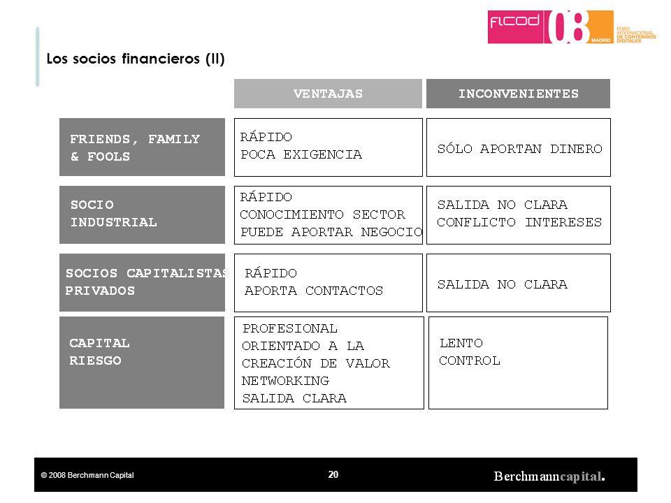 Los socios financieros (II)