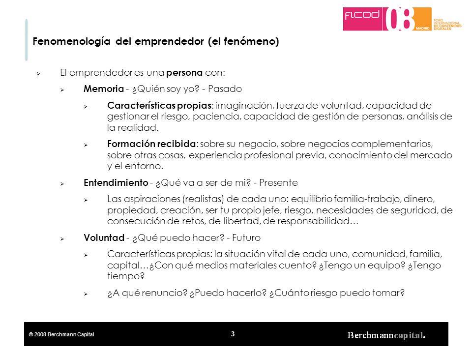 Fenomenología del emprendedor (el fenómeno)