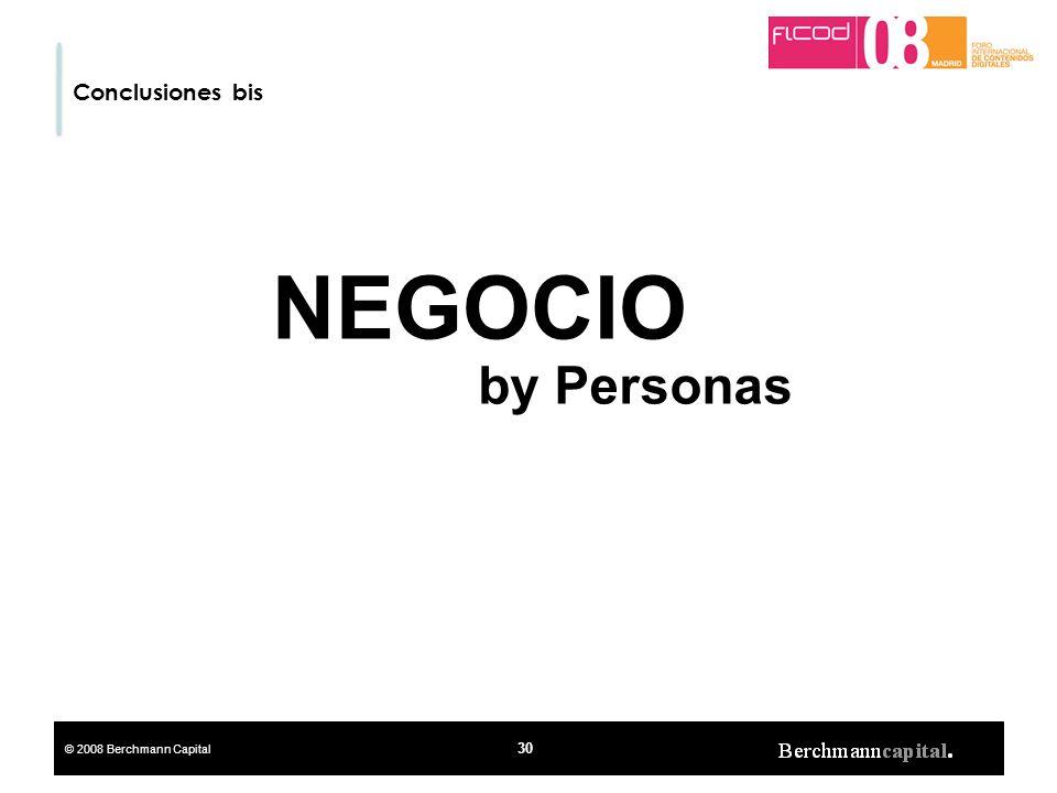 Conclusiones bis NEGOCIO by Personas 30