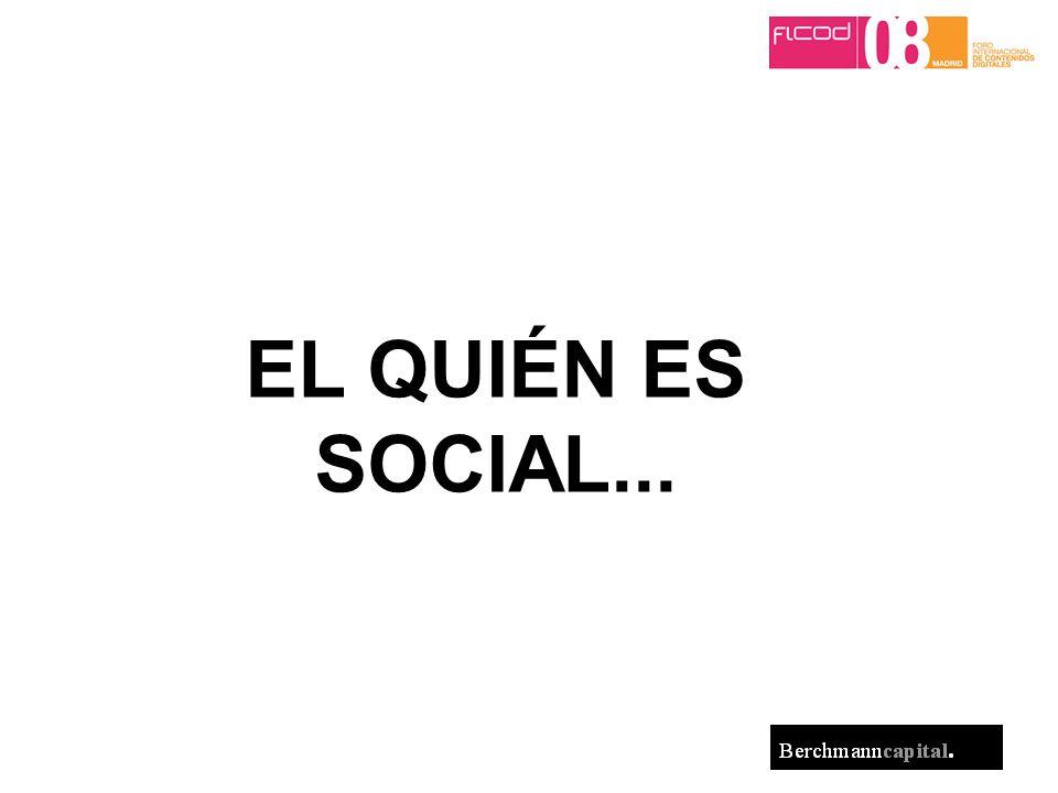 EL QUIÉN ES SOCIAL...
