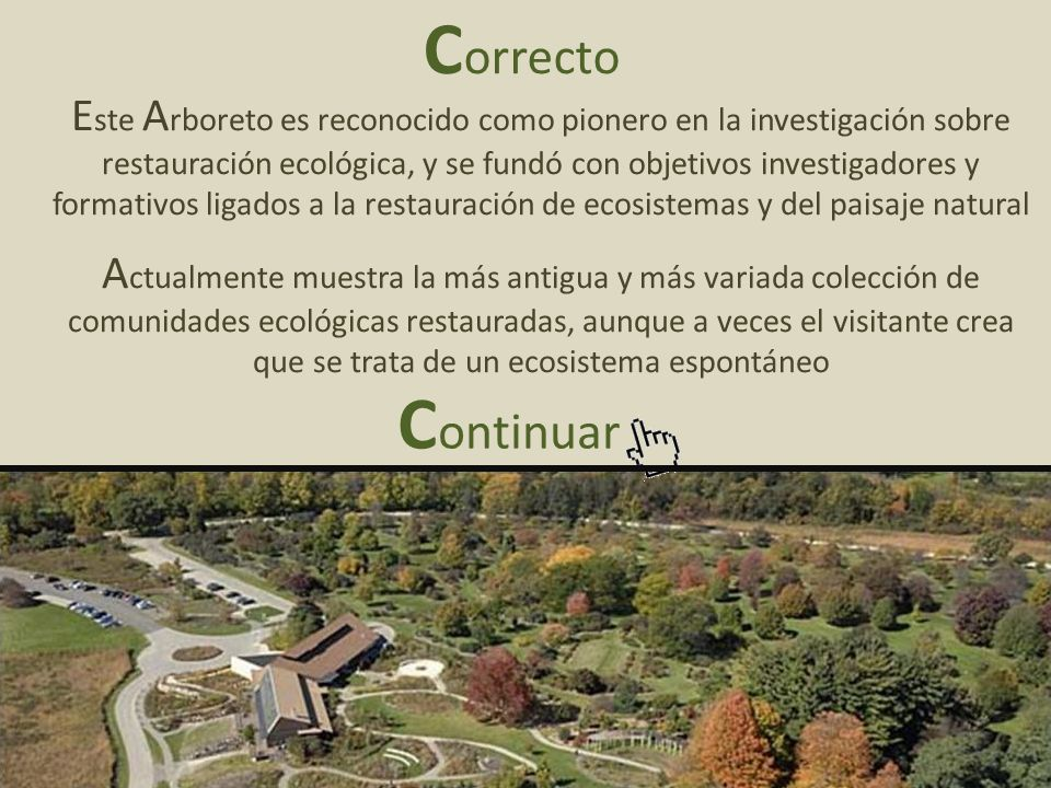 Este Arboreto es reconocido como pionero en la investigación sobre restauración ecológica, y se fundó con objetivos investigadores y formativos ligados a la restauración de ecosistemas y del paisaje natural