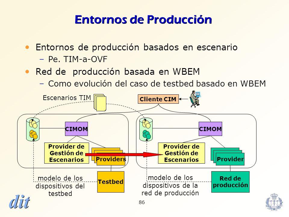 Entornos de Producción