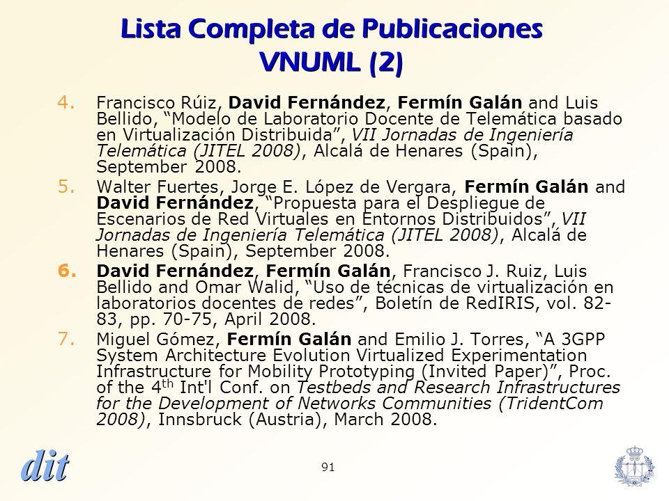 Lista Completa de Publicaciones VNUML (2)