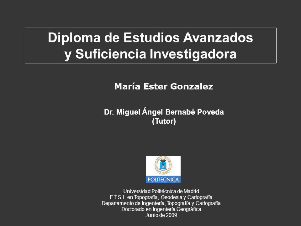 Diploma de Estudios Avanzados y Suficiencia Investigadora
