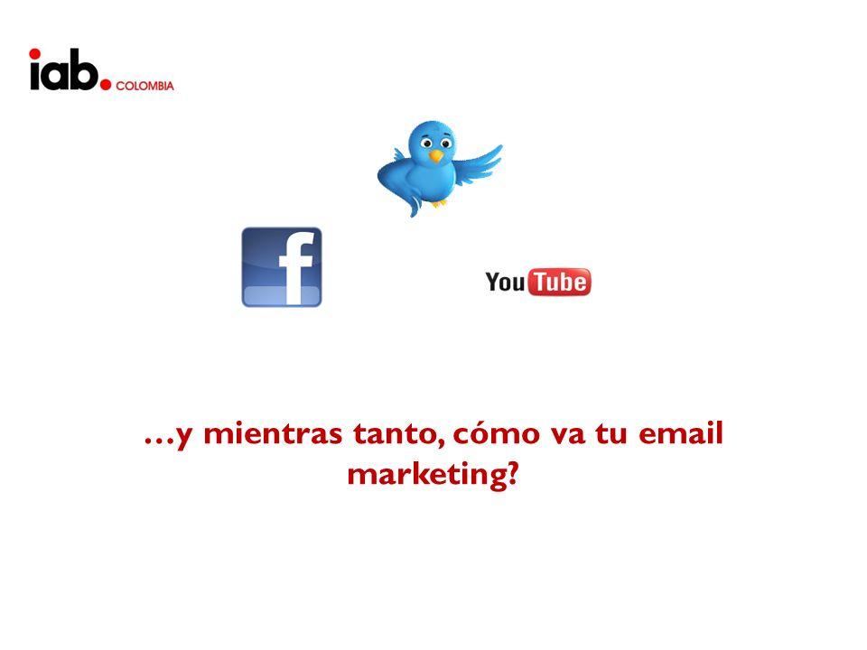 …y mientras tanto, cómo va tu email marketing