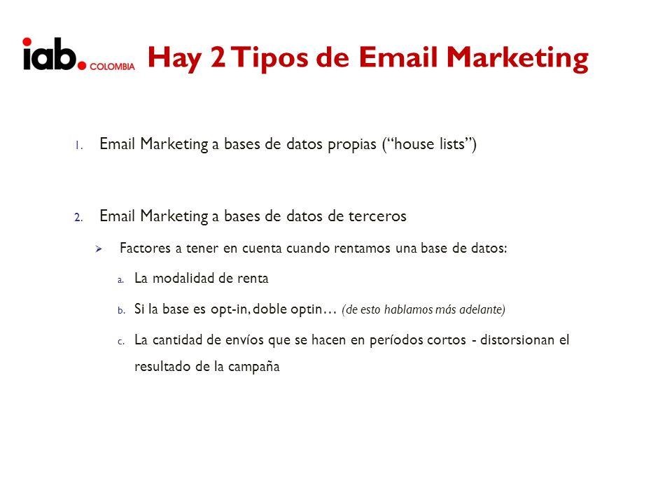 Hay 2 Tipos de Email Marketing