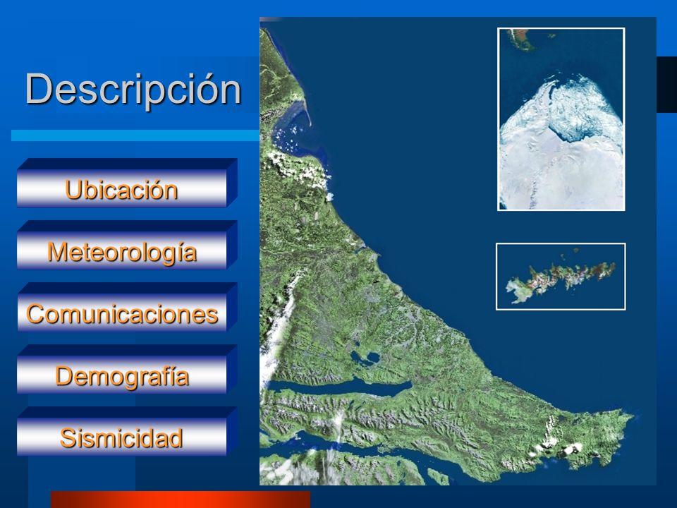 Descripción Ubicación Meteorología Comunicaciones Demografía