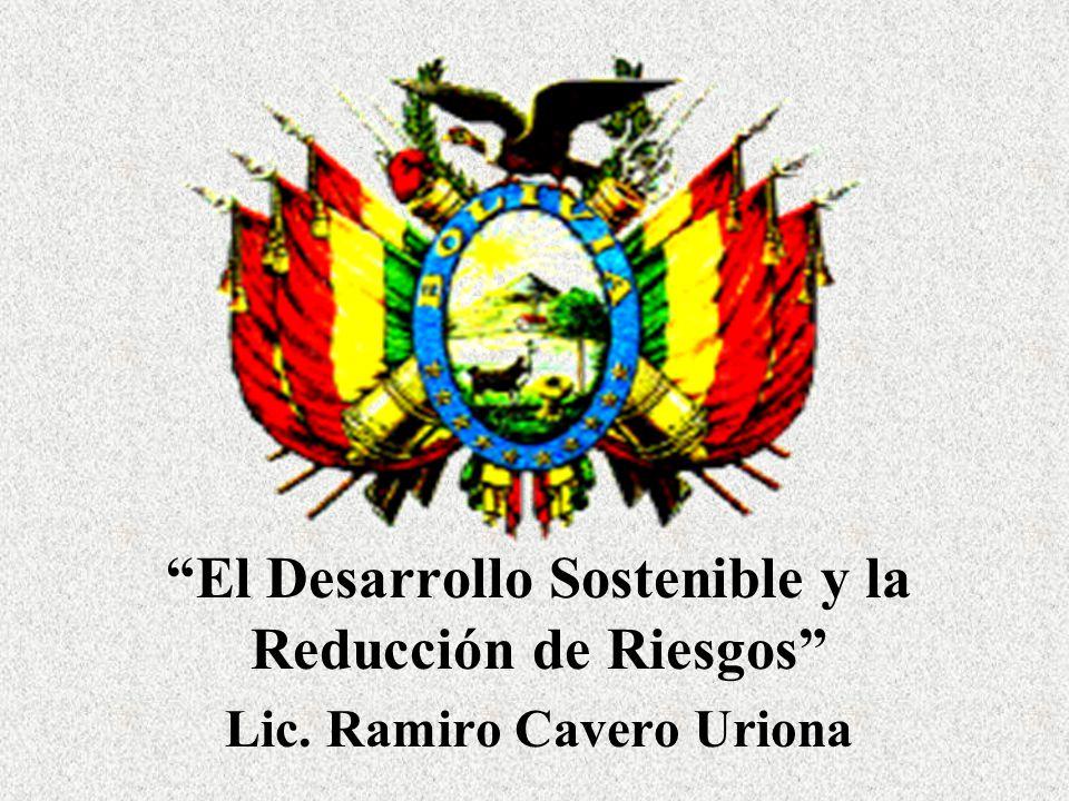 El Desarrollo Sostenible y la Reducción de Riesgos