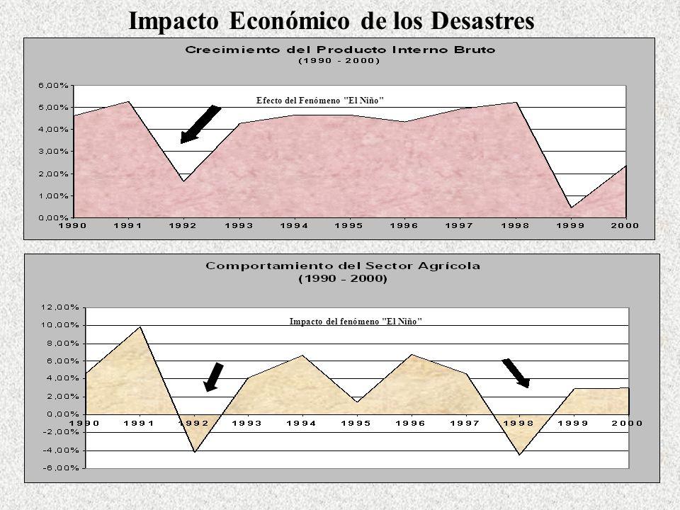 Impacto Económico de los Desastres