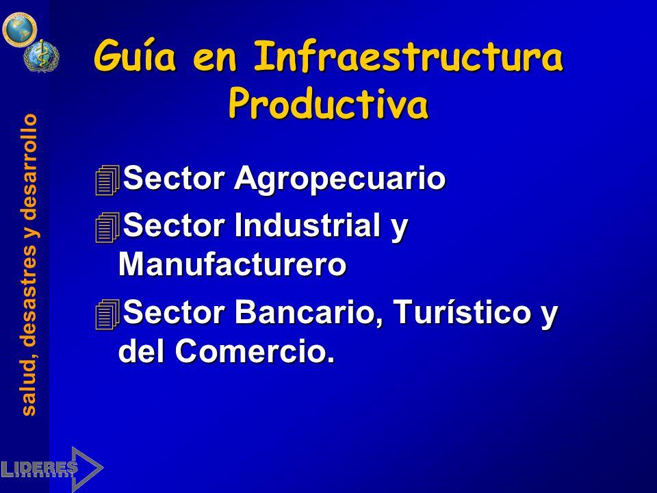 Guía en Infraestructura Productiva