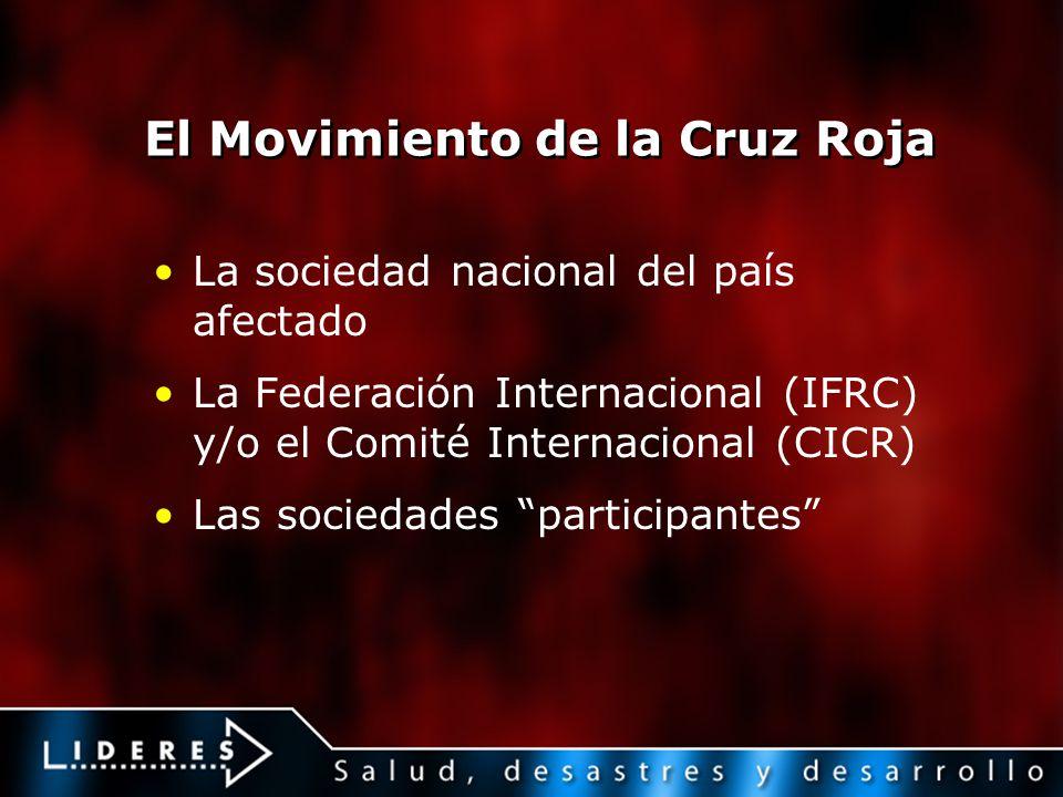 El Movimiento de la Cruz Roja