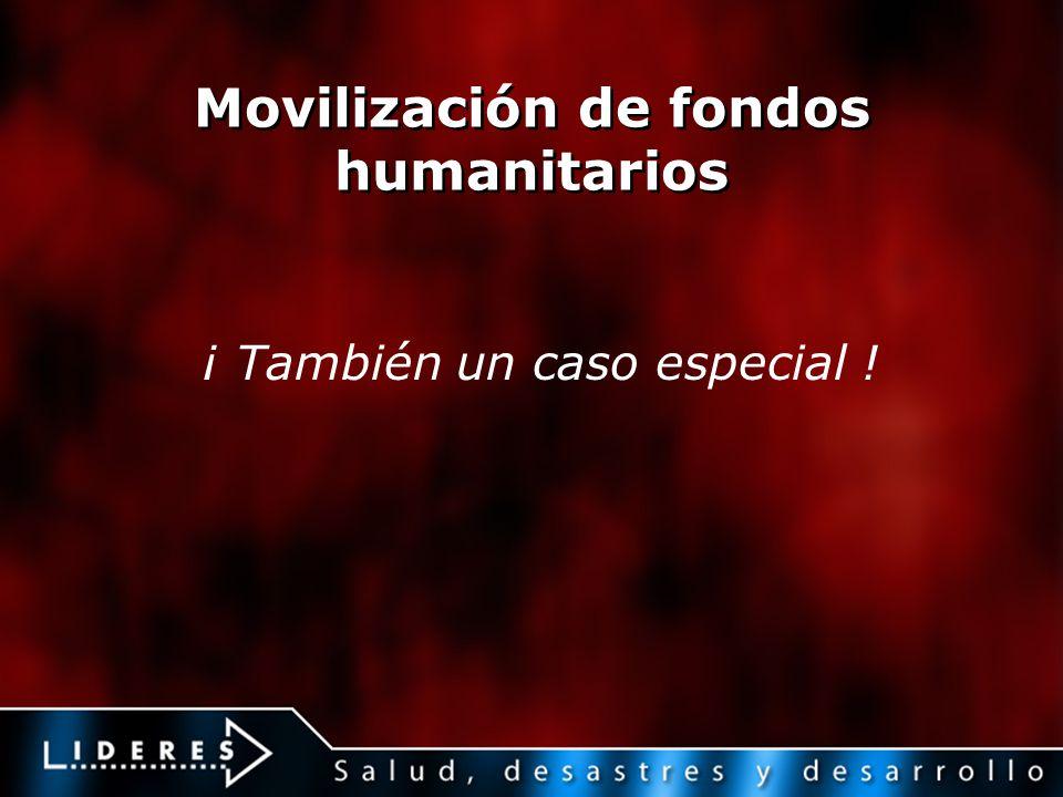 Movilización de fondos humanitarios