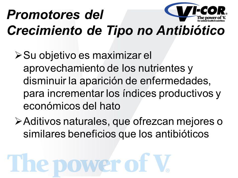 Promotores del Crecimiento de Tipo no Antibiótico