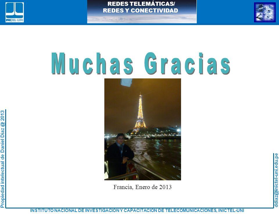 Muchas Gracias Francia, Enero de 2013