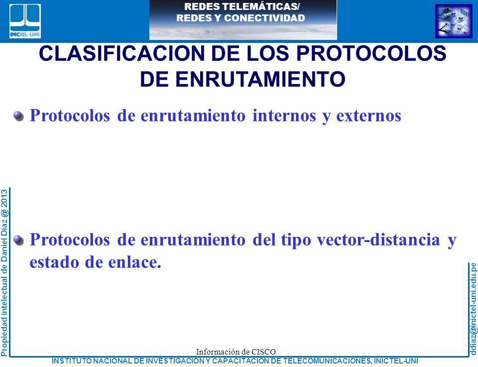 CLASIFICACION DE LOS PROTOCOLOS