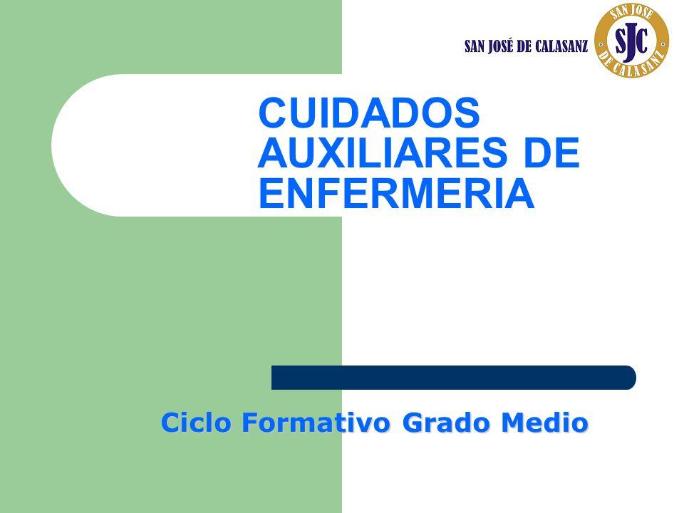 CUIDADOS AUXILIARES DE ENFERMERIA