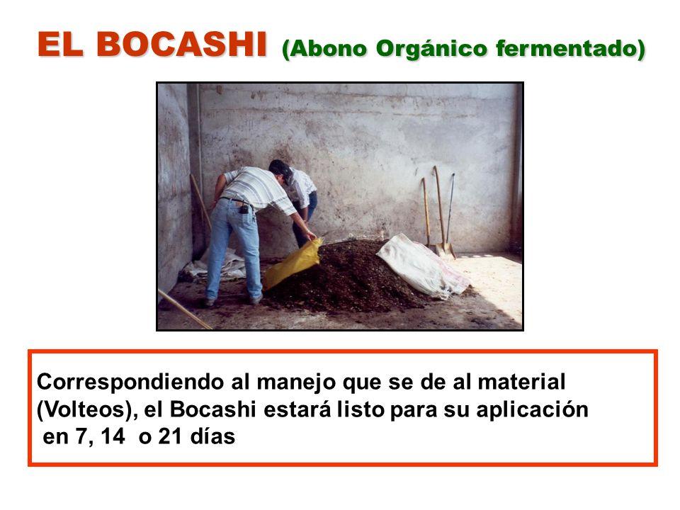 EL BOCASHI (Abono Orgánico fermentado)