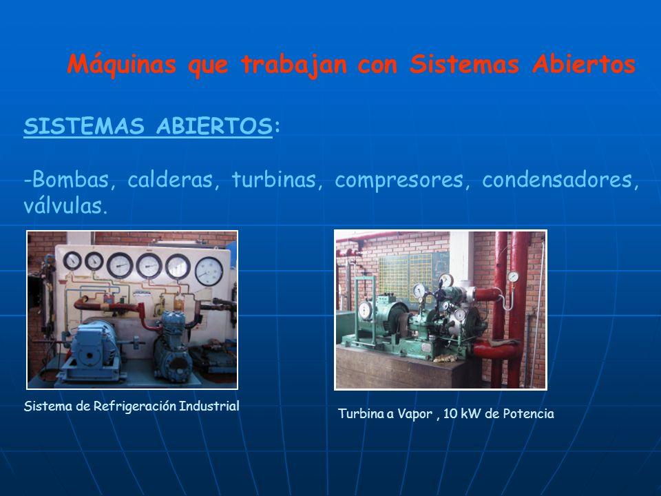 Máquinas que trabajan con Sistemas Abiertos