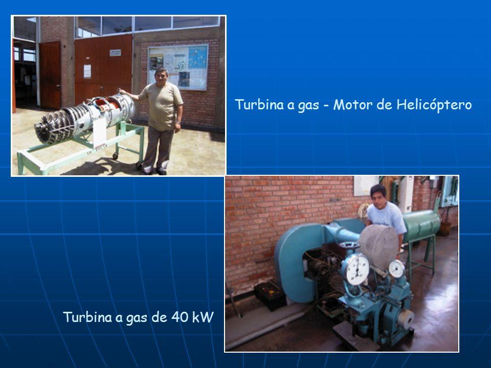 Turbina a gas - Motor de Helicóptero