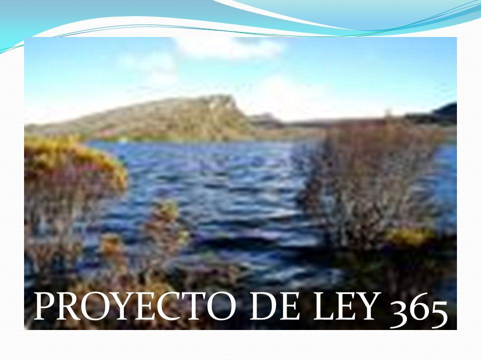 PROYECTO DE LEY 365